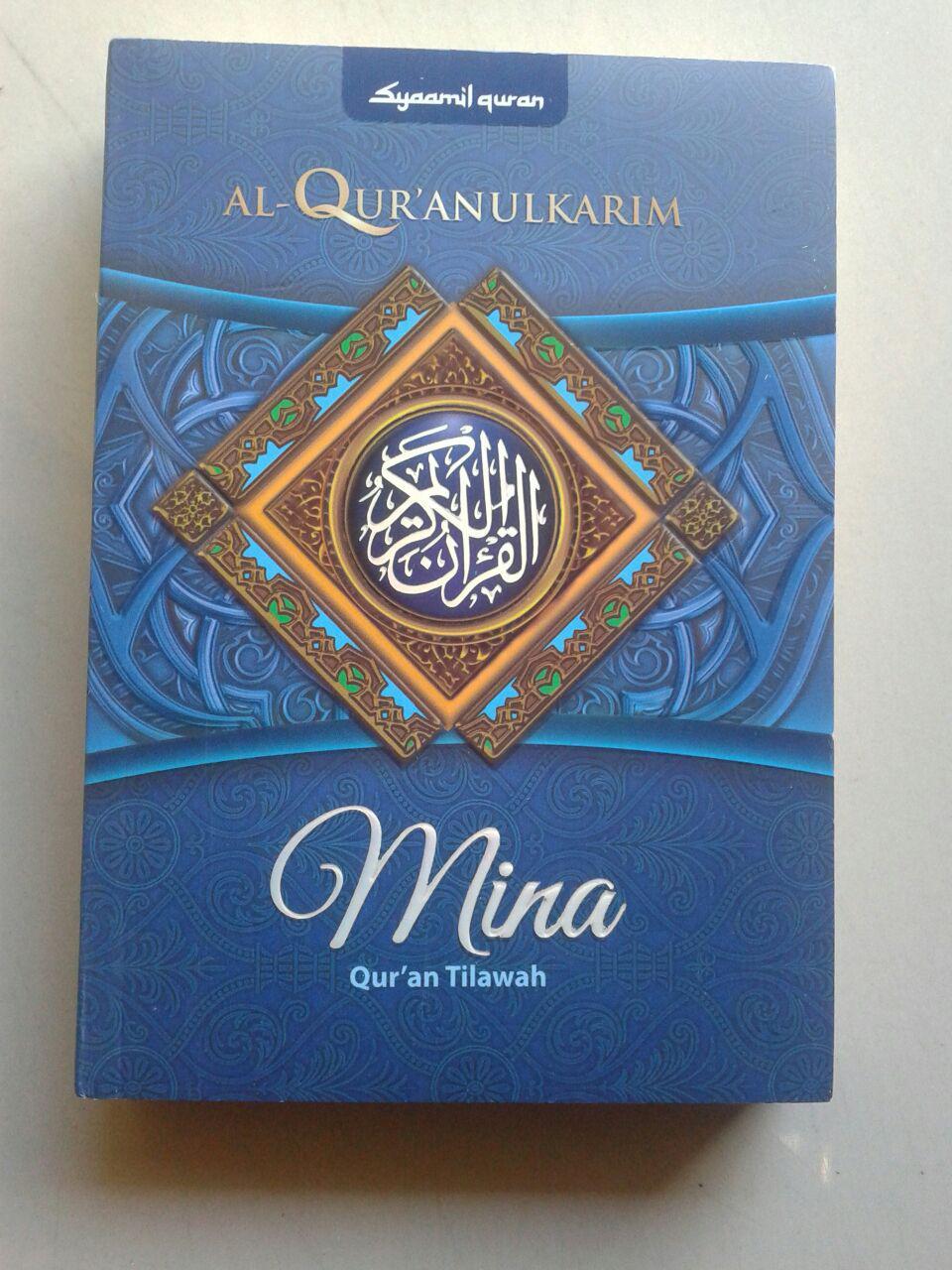 Al-Qur'an Tilawah Mushaf Mina Ukuran A6 cover