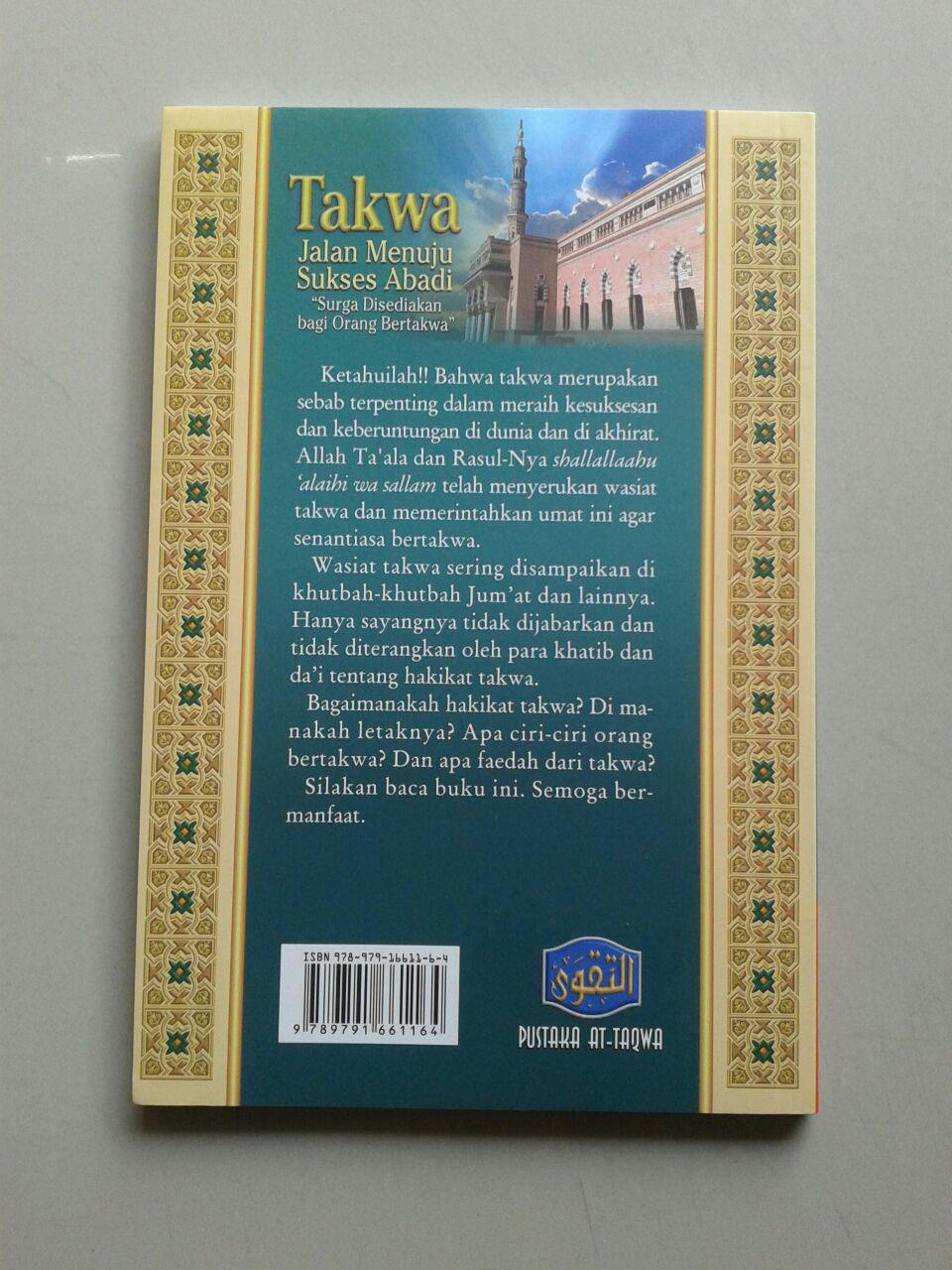 Buku Takwa Jalan Sukses Abadi cover