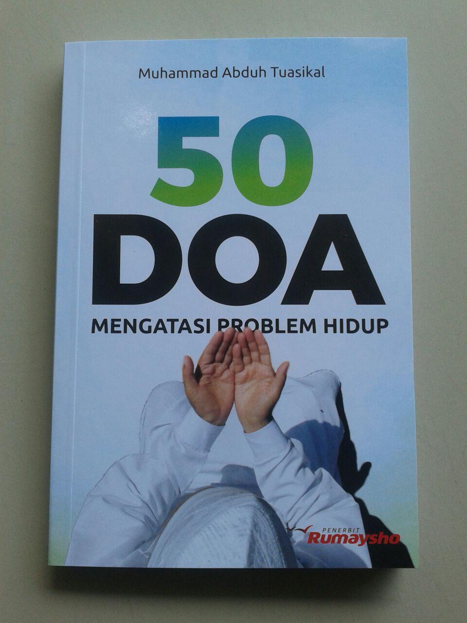 Buku 50 Doa Mengatasi Problem Hidup cover 2