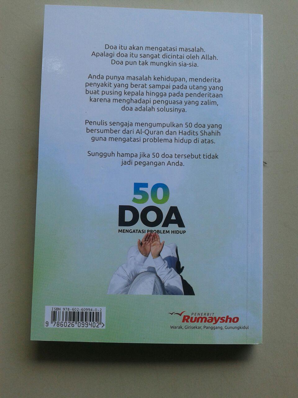 Buku 50 Doa Mengatasi Problem Hidup cover
