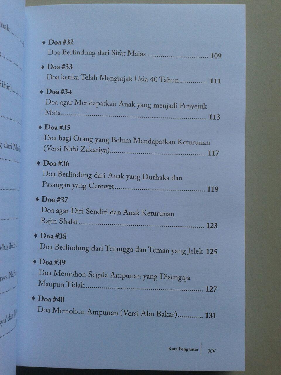 Buku 50 Doa Mengatasi Problem Hidup isi 2