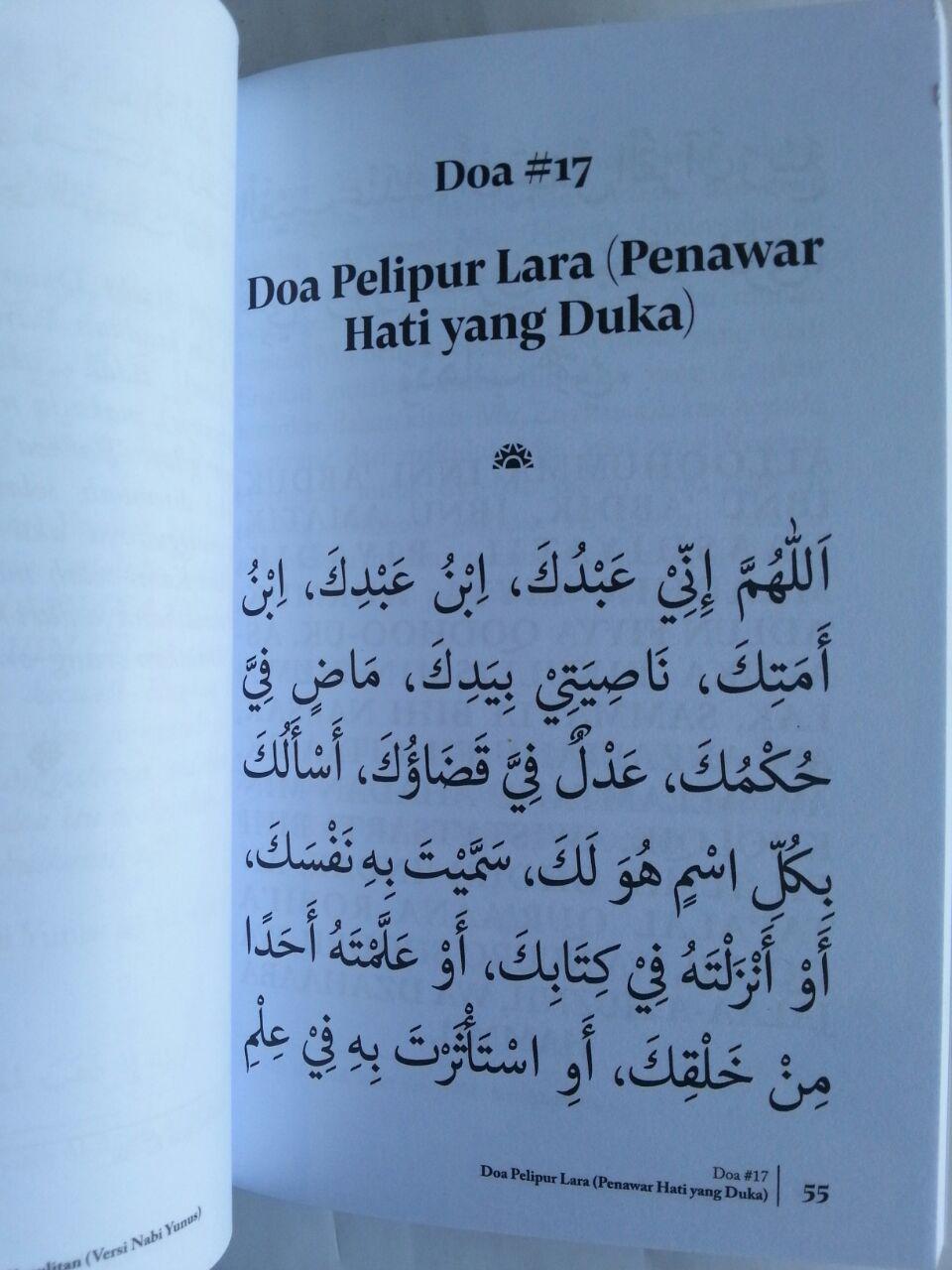 Buku 50 Doa Mengatasi Problem Hidup isi 3