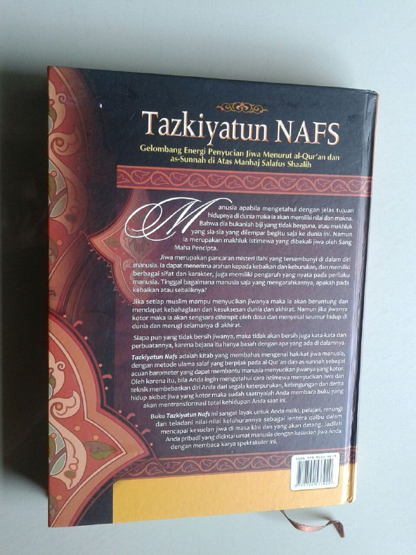 Buku Tazkiyatun Nafs Gelombang Energi Penyucian Jiwa cover