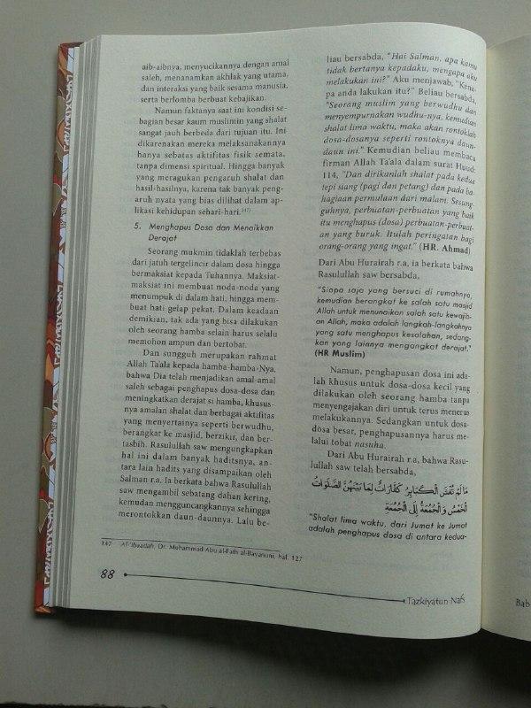 Buku Tazkiyatun Nafs Gelombang Energi Penyucian Jiwa isi 2