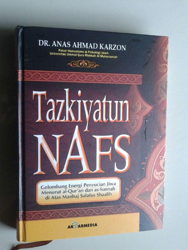 Buku Tazkiyatun Nafs Gelombang Energi Penyucian Jiwa cover 2
