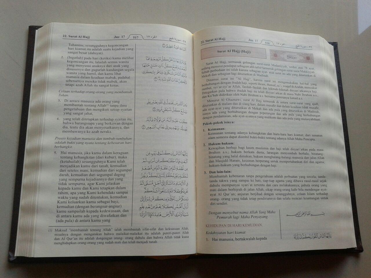 Al-Qur'an Mushaf Dan Terjemahnya Ukuran A5 isi