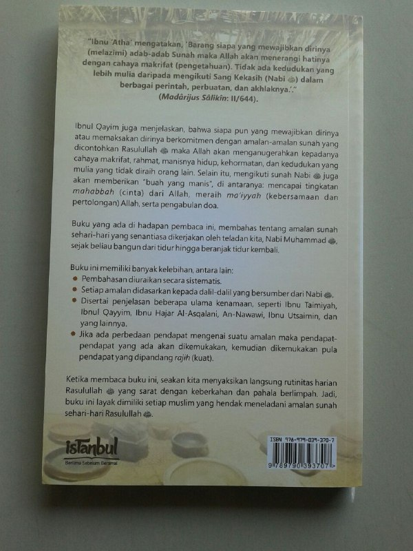 Buku Amalan Sunnah Sehari Hari Rasulullah Shallallahu Alaihi wa Sallam cover