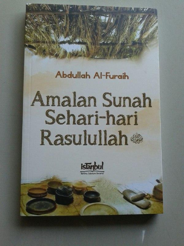 Buku Amalan Sunnah Sehari Hari Rasulullah Shallallahu Alaihi wa Sallam cover 2