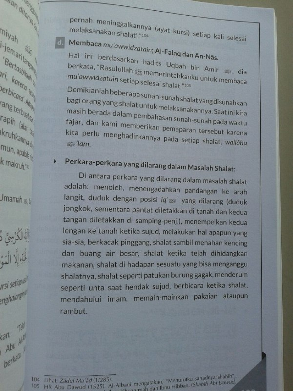Buku Amalan Sunnah Sehari Hari Rasulullah Shallallahu Alaihi wa Sallam isi 2