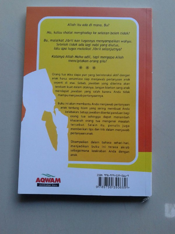 Buku Anak Bertanya Anda Kelabakan Kumpulan Pertanyaan Anak Islam cover 2
