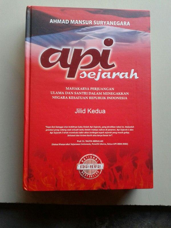 Buku Api Sejarah Mahakarya Perjuangan Ulama Dan Santri Set 2 Jilid cover 3