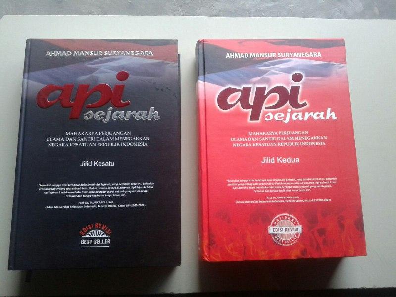 Buku Api Sejarah Mahakarya Perjuangan Ulama Dan Santri Set 2 Jilid cover 5