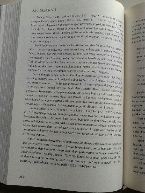 Buku Api Sejarah Mahakarya Perjuangan Ulama Dan Santri Set 2 Jilid isi 3