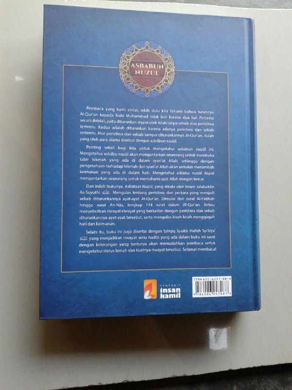 Buku Asbabun Nuzul cover 2