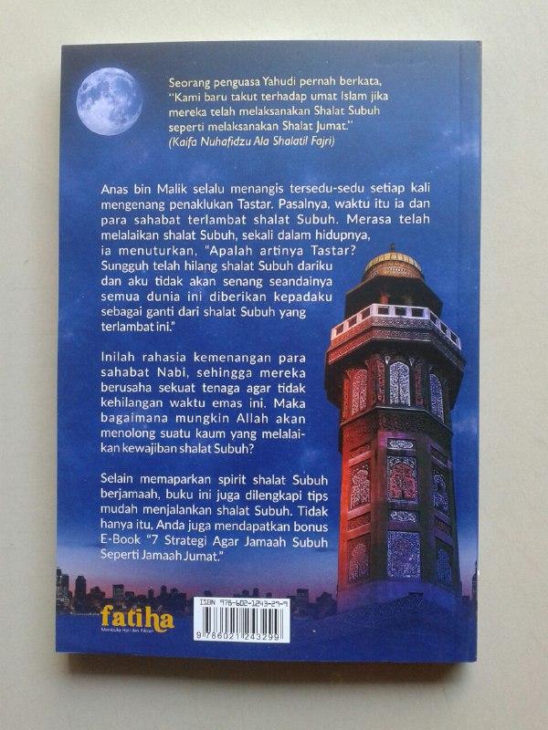 Buku Berkah Shalat Subuh Berjamaah Kebangkitan & Kemenangan Umat Islam cover 2