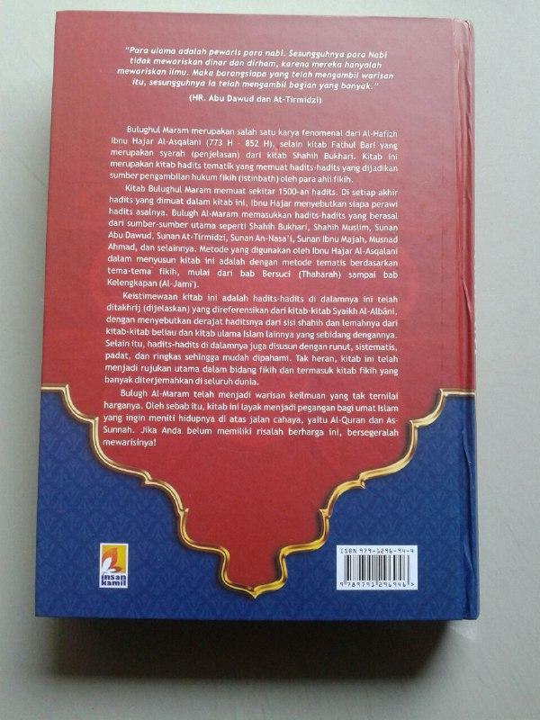 Buku Bulughul Maram Dilengkapi Tahqiq Dan Tahkhrij Dari Syaikh Albani cover 2