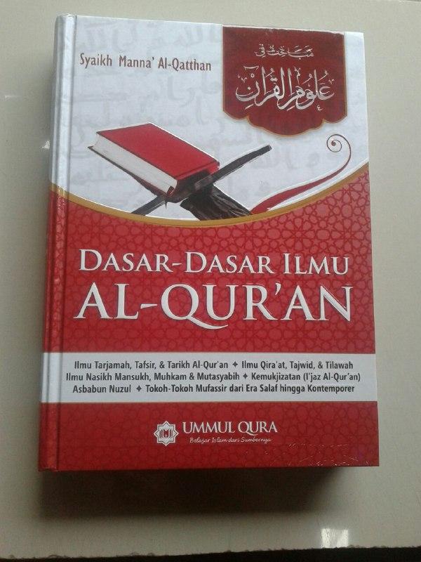 Buku Dasar Dasar Ilmu Al-Qur'an Ilmu Tarjamah Tafsir Qira'at Tajwid cover