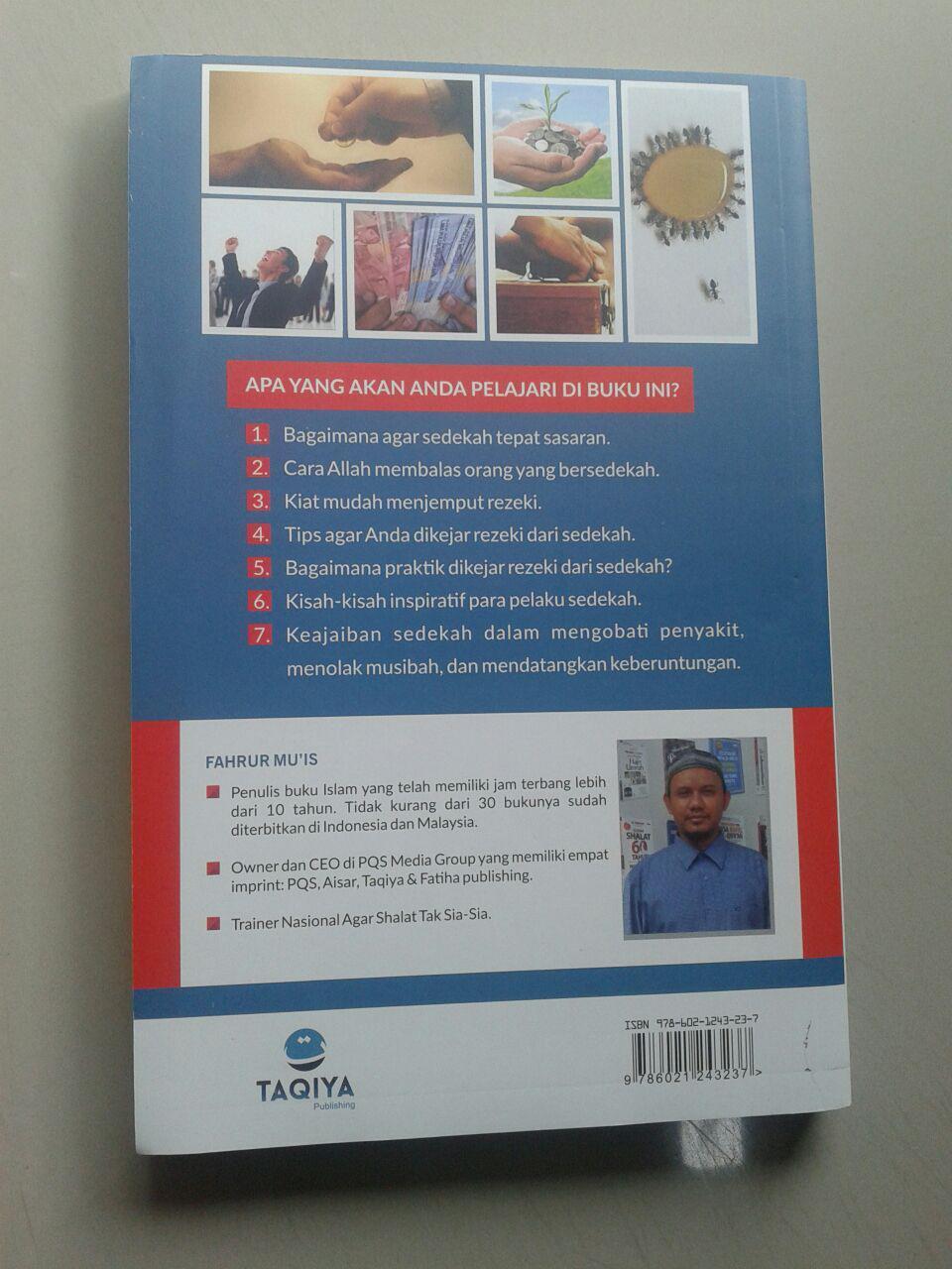 Buku Dikejar Rezeki Dari Sedekah cover 2