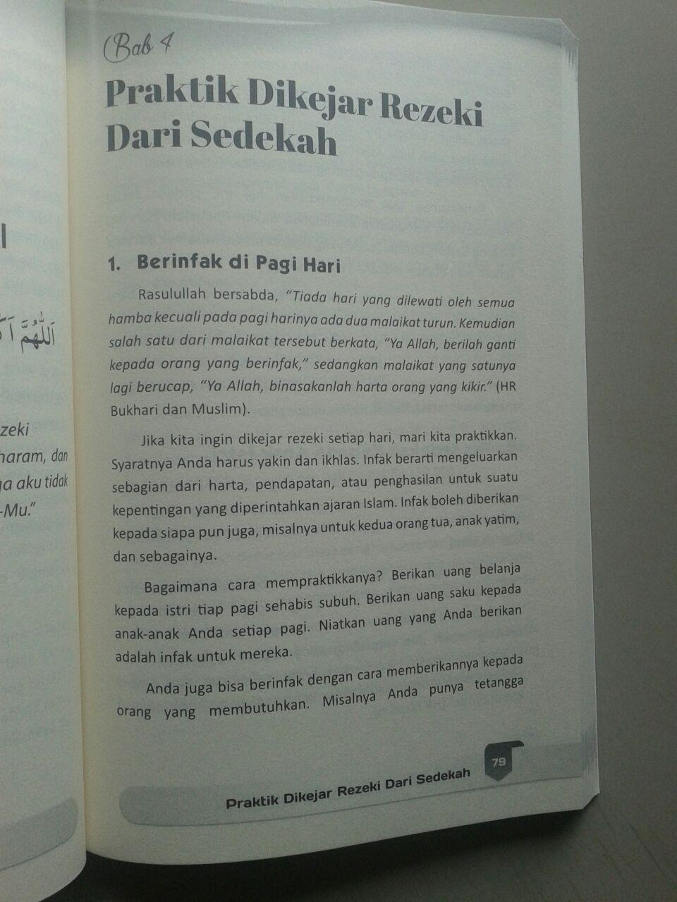 Buku Dikejar Rezeki Dari Sedekah isi 3