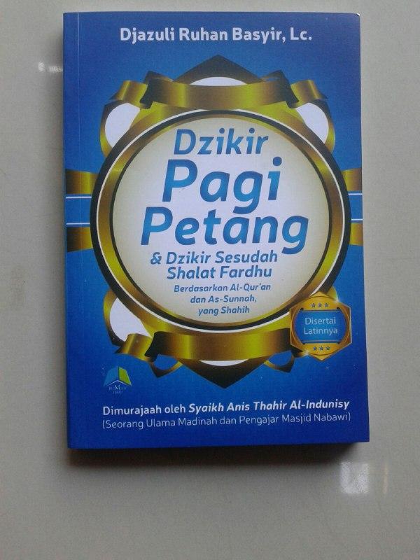 Buku Saku Dzikir Pagi Petang & Dzikir Sesudah Shalat Fardhu cover 2