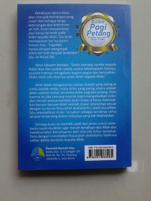 Buku Saku Dzikir Pagi Petang & Dzikir Sesudah Shalat Fardhu