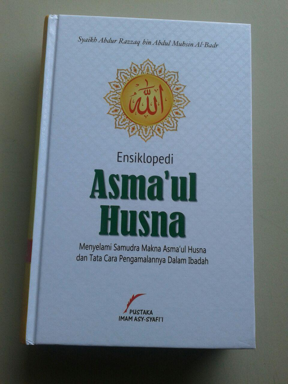 Buku Ensiklopedi Asma'ul Husna Menyelami Makna Tata Cara Pengamalannya cover 2