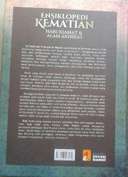 Buku Ensiklopedi Kematian Hari Kiamat & Alam Akhirat cover 2