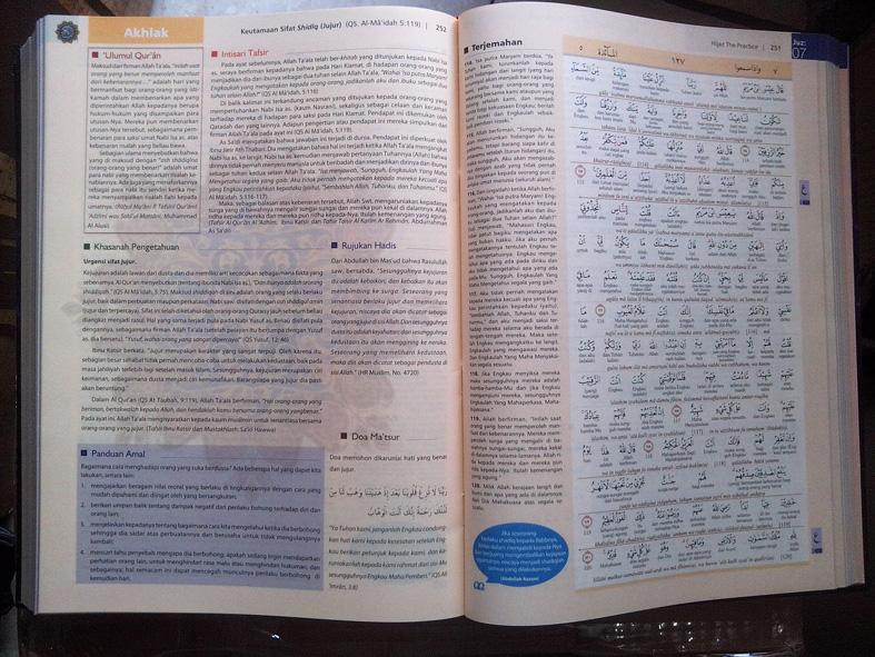 Al-Qur'an Mushaf Hijaz The Practice Ukuran A4 isi 3