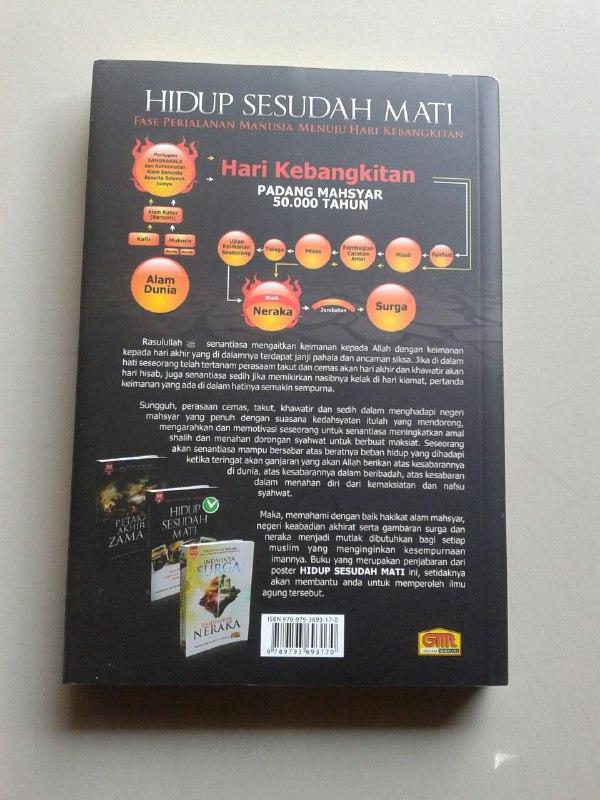 Buku Hidup Sesudah Mati Perjalanan Manusia Menuju Hari Kebangkitan cover 2