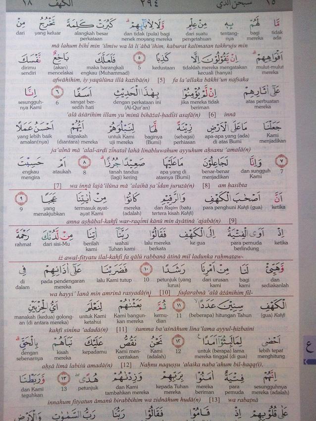 Al-Qur'an Mushaf Hijaz The Practice Ukuran A4 isi 4