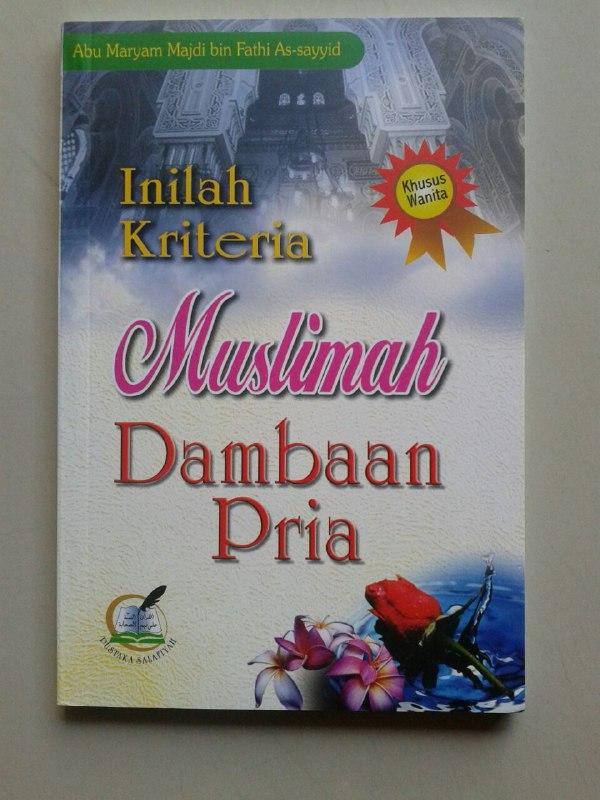 Buku Inilah Kriteria Muslimah Dambaan Pria cover 2