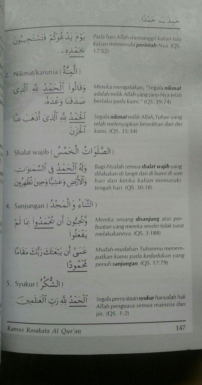 Buku Kamus Kosa Kata Al-Qur'an isi 2