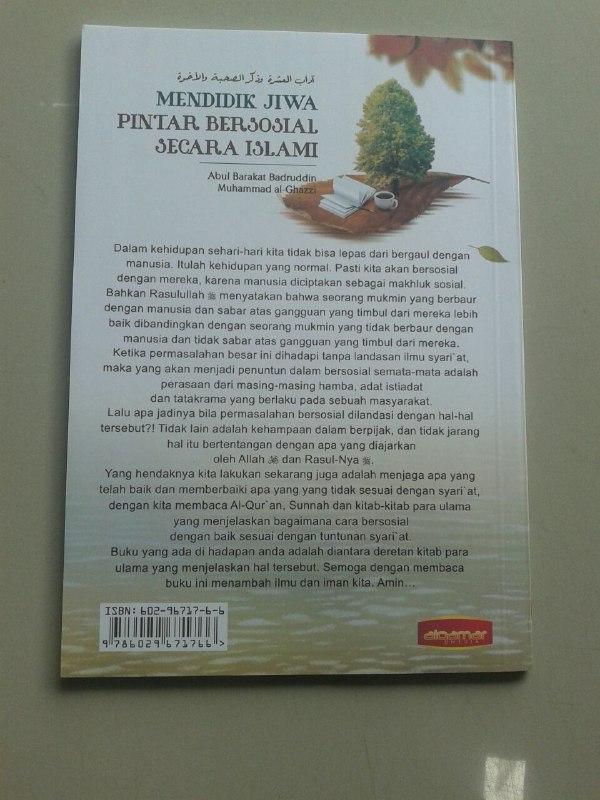 Buku Mendidik Jiwa Pintar Bersosial Secara Islami cover