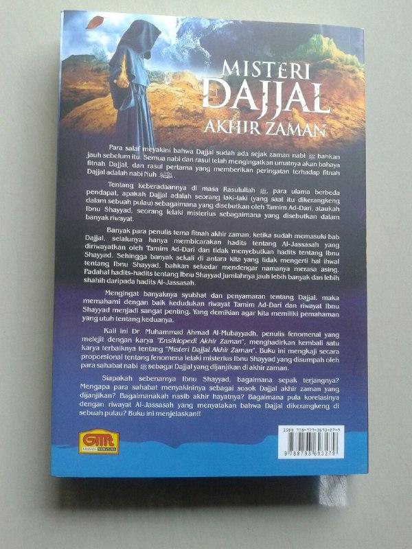 Buku Misteri Dajjal Akhir Zaman Kajian Hadits Tentang Ibnu Sayyad cover 2