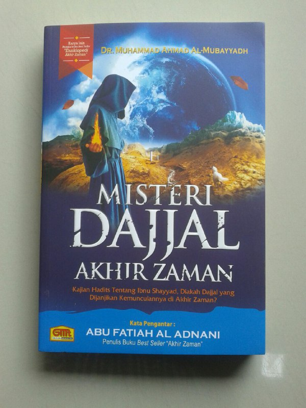 Buku Misteri Dajjal Akhir Zaman Kajian Hadits Tentang Ibnu Sayyad cover