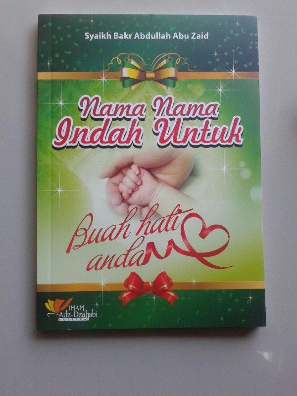 Buku Nama Nama Indah Untuk Buah Hati Anda cover