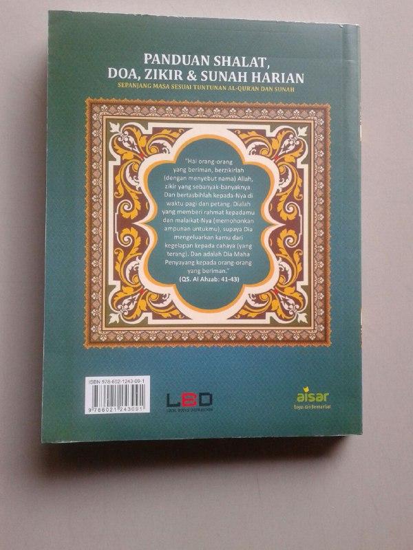 Buku Panduan Shalat Doa Dzikir Dan Sunnah Harian Sesuai Qur'an Sunnah cover 2