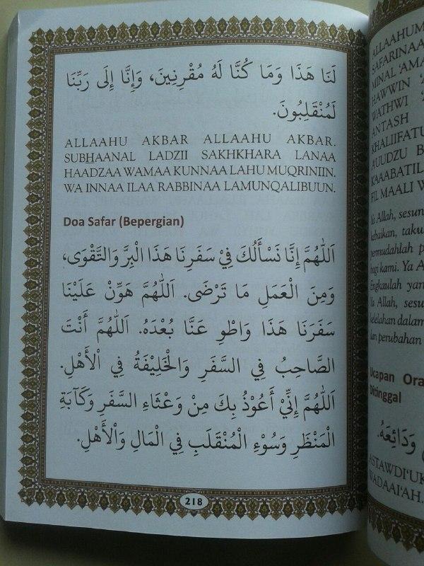 Buku Panduan Shalat Doa Dzikir Dan Sunnah Harian Sesuai Qur'an Sunnah isi 2