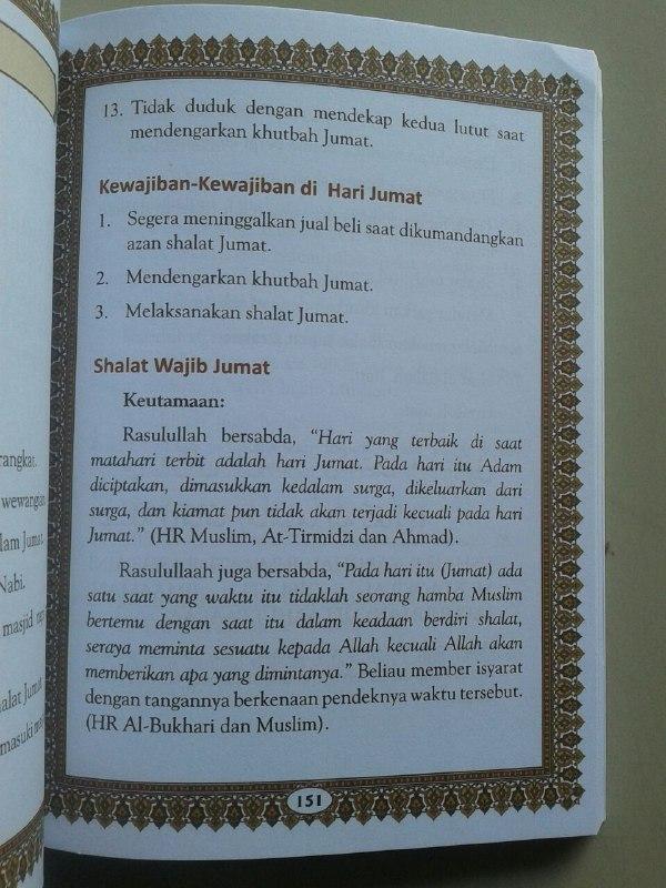 Buku Panduan Shalat Doa Dzikir Dan Sunnah Harian Sesuai Qur'an Sunnah isi