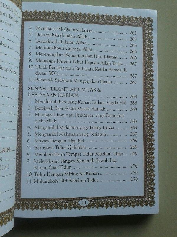 Buku Panduan Shalat Doa Dzikir Dan Sunnah Harian Sesuai Qur'an Sunnah isi 3