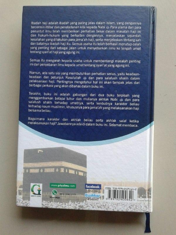 Buku Perjalanan Haji Nabi & Salafush Shalih Kondisi Dan Karakteristik cover 2