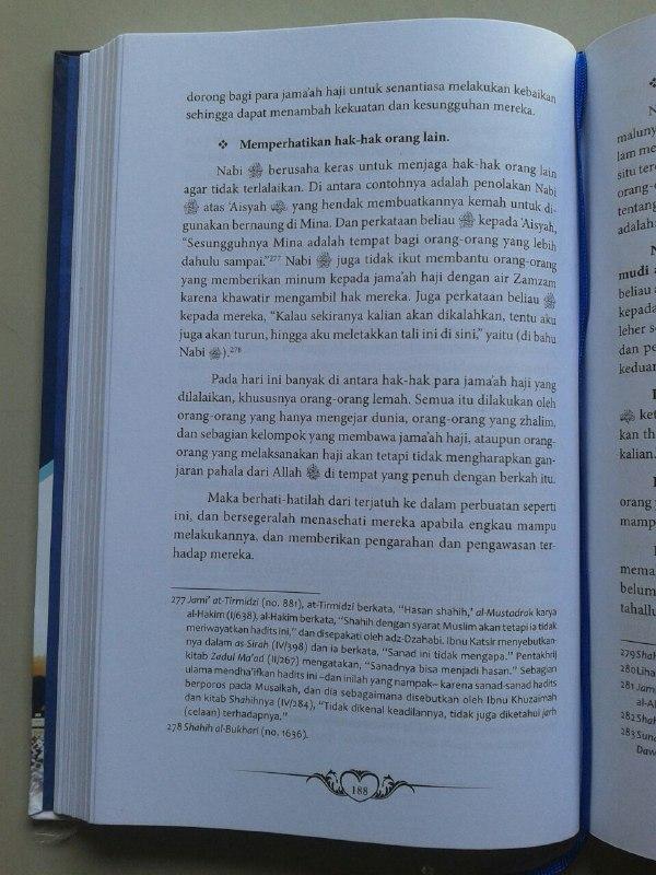 Buku Perjalanan Haji Nabi & Salafush Shalih Kondisi Dan Karakteristik isi 2