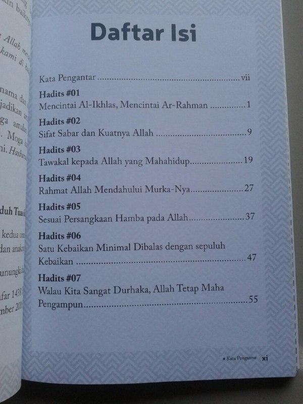 Buku Sembilan Mutiara Faedah Dari Hadits Nama Dan Sifat Allah isi 2