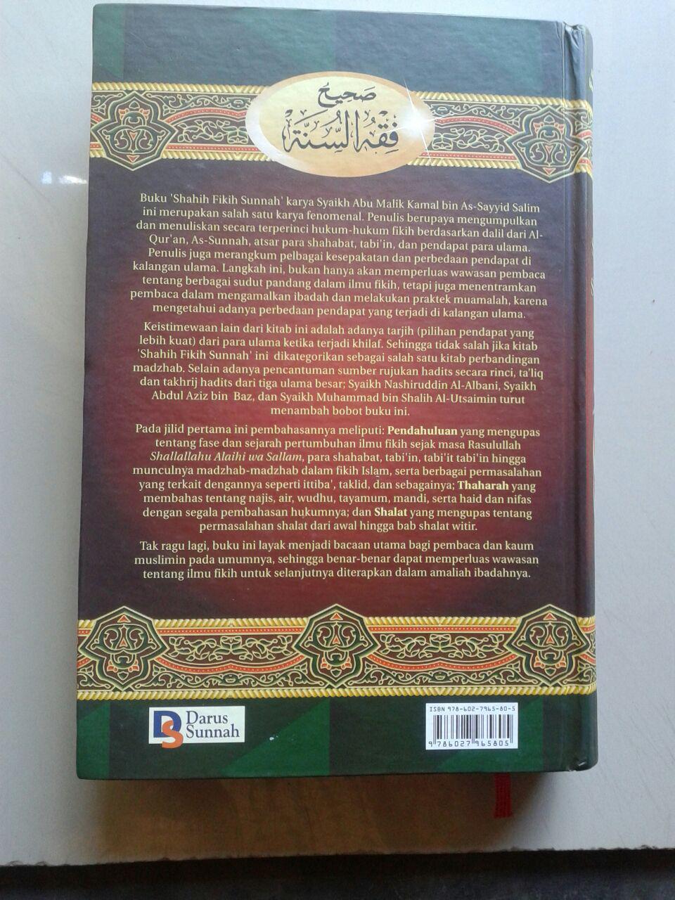 Buku Shahih Fikih Sunnah Penjelasan Fikih Berdasarkan Quran Dan Sunnah