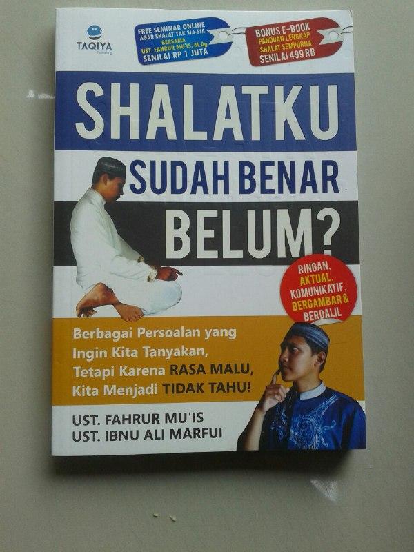 Buku Shalatku Sudah Benar Belum? cover