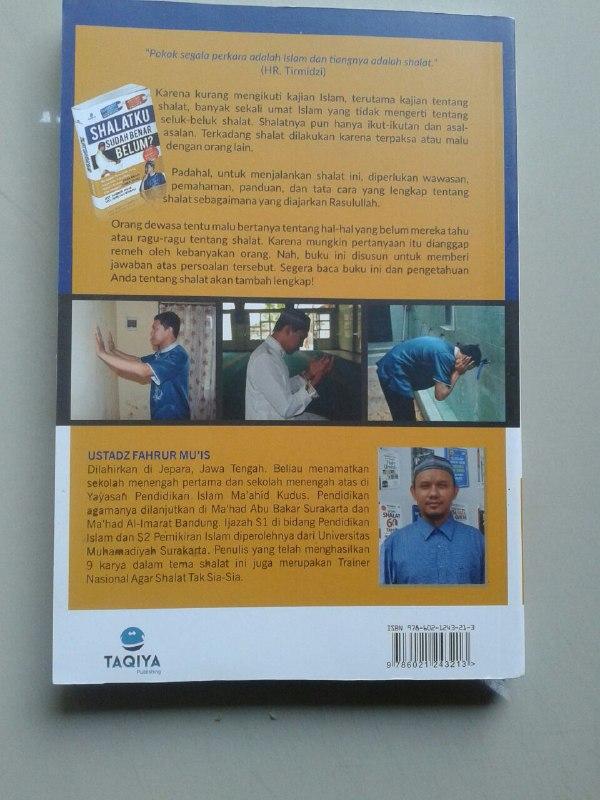 Buku Shalatku Sudah Benar Belum? cover 2