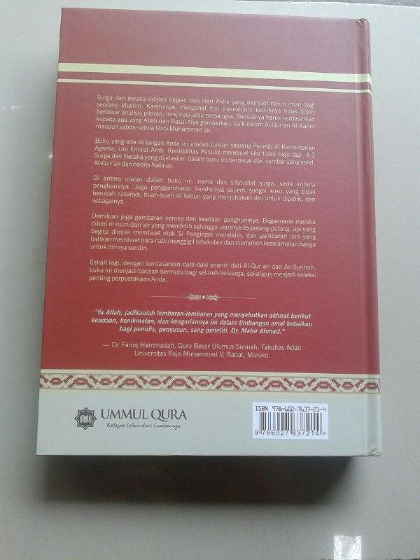 Buku Surga & Neraka Menurut Al-Qur'an & As-Sunnah cover