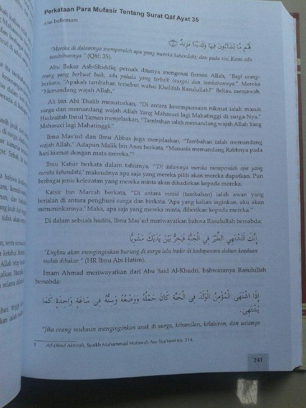 Buku Surga & Neraka Menurut Al-Qur'an & As-Sunnah isi 2