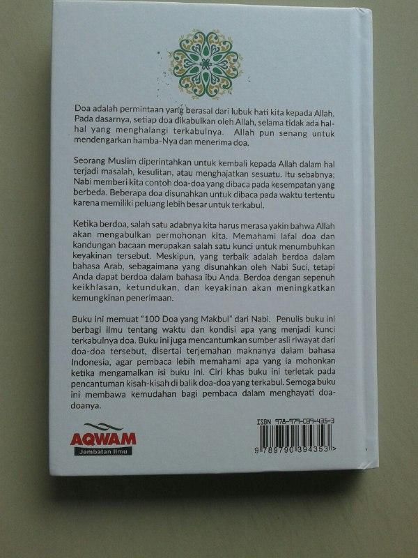 Buku 100 Doa Mustajab Bersejarah cover 2