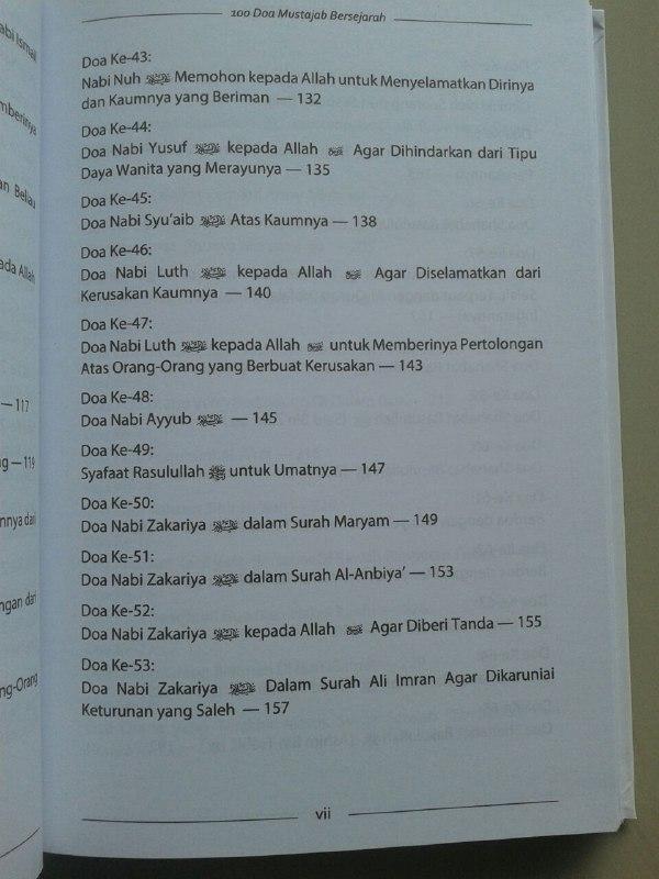 Buku 100 Doa Mustajab Bersejarah isi 2